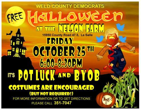 Halloween at the Nelson Farm