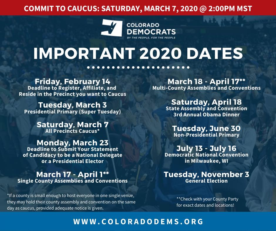 Important Dates of 2020