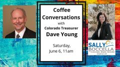 Coffee Conversations with Colorado Treasurer Dave Young