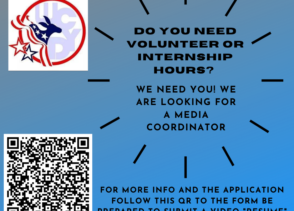 Weld County Young Democrats Internship Opportunities